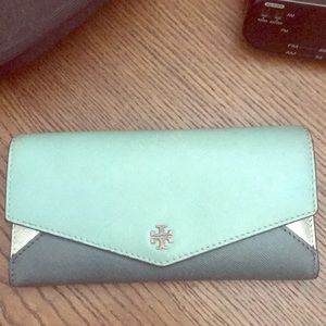TORY BURCH Tricolor Wallet